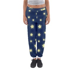 Stars Night Sky Background Women s Jogger Sweatpants by Alisyart
