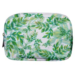 Leaves Green Pattern Nature Plant Make Up Pouch (small) by AnjaniArt