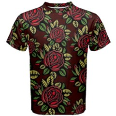 Roses Red Men s Cotton Tee