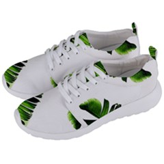 Green Banana Leaves Men s Lightweight Sports Shoes by goljakoff
