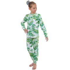 Tiny Tree Branches Kids  Long Sleeve Set
