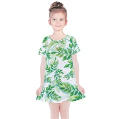 Tiny Tree Branches Kids  Simple Cotton Dress