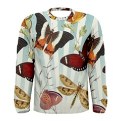 My Butterfly Collection Men s Long Sleeve Tee