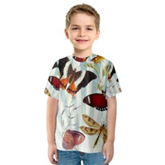 My Butterfly Collection Kids  Sport Mesh Tee
