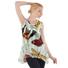 My Butterfly Collection Side Drop Tank Tunic by WensdaiAmbrose