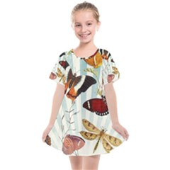My Butterfly Collection Kids  Smock Dress by WensdaiAmbrose