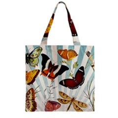My Butterfly Collection Grocery Tote Bag by WensdaiAmbrose