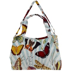 My Butterfly Collection Double Compartment Shoulder Bag by WensdaiAmbrose