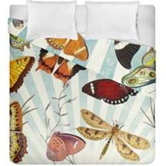 My Butterfly Collection Duvet Cover Double Side (king Size) by WensdaiAmbrose