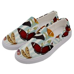My Butterfly Collection Men s Canvas Slip Ons by WensdaiAmbrose