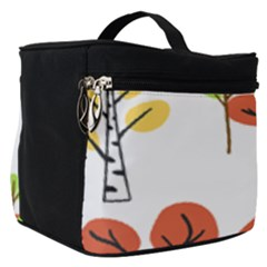Tree Auntumn Leaf Make Up Travel Bag (small)