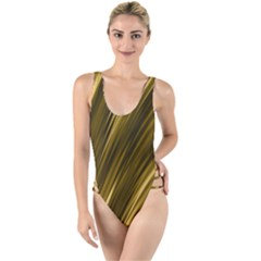 Creative Original Intention High Leg Strappy Swimsuit by Desi8477