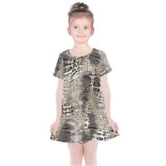 Luxury Animal Print Kids  Simple Cotton Dress by tarastyle