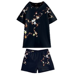 Shooting Star Kids  Swim Tee And Shorts Set