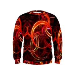 Background Fractal Abstract Kids  Sweatshirt