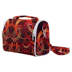 Background Fractal Abstract Satchel Shoulder Bag