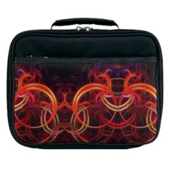 Background Fractal Abstract Lunch Bag by Pakrebo