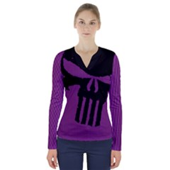 Ghost Gear   Lady Punishment   V-neck Long Sleeve Top by GhostGear