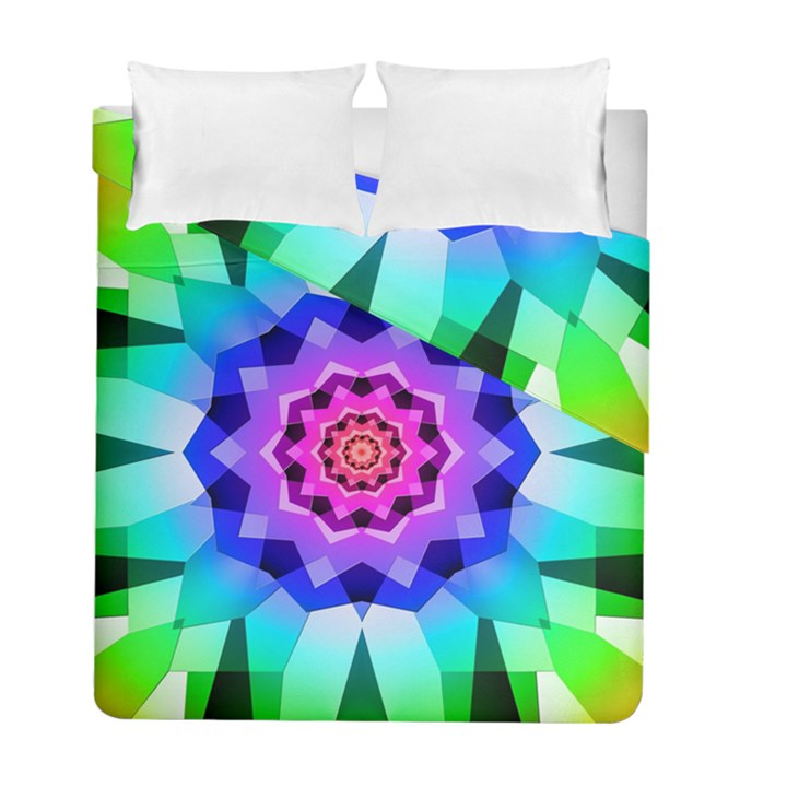 Ornament Kaleidoscope Duvet Cover Double Side (Full/ Double Size)