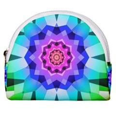 Ornament Kaleidoscope Horseshoe Style Canvas Pouch