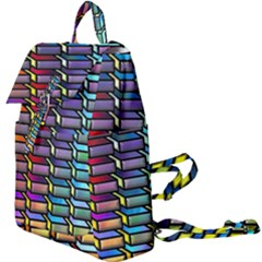 Pattern Background Creativity Buckle Everyday Backpack