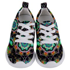 Fractal Chaos Symmetry Psychedelic Kids  Lightweight Sports Shoes