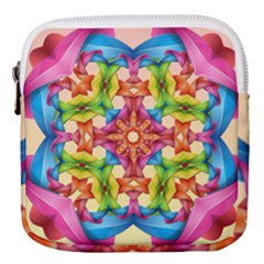 Pattern Tile Background Image Deco Mini Square Pouch