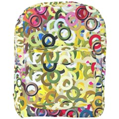 Pattern Background Abstract Color Full Print Backpack
