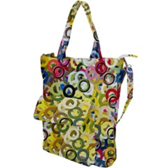 Pattern Background Abstract Color Shoulder Tote Bag by Pakrebo