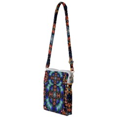 Mosaic Kaleidoscope Form Pattern Multi Function Travel Bag