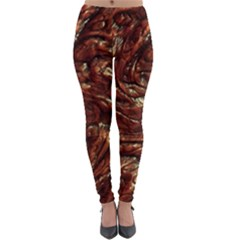 Background Structure Surface Lightweight Velour Leggings