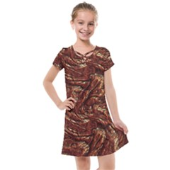Background Structure Surface Kids  Cross Web Dress