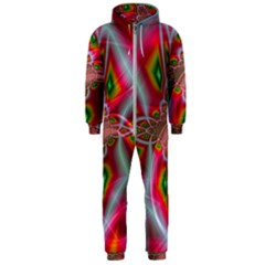 Fractal Art Pictures Digital Art Hooded Jumpsuit (men)