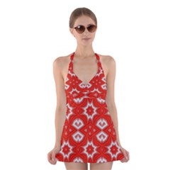 Background Wallpaper Texture Halter Dress Swimsuit