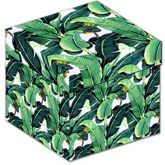 Tropical Banana Leaves Storage Stool 12   by goljakoff