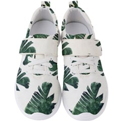 Tropical Leaves Men s Velcro Strap Shoes by goljakoff