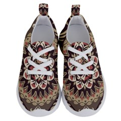 Seamless Pattern Floral Flower Running Shoes by Pakrebo