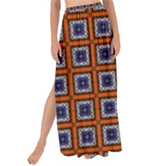 Tile Background Image Pattern Maxi Chiffon Tie-up Sarong by Pakrebo