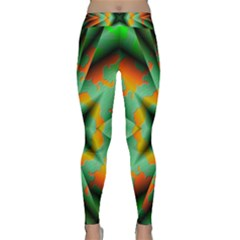 Farbenpracht Kaleidoscope Classic Yoga Leggings by Pakrebo