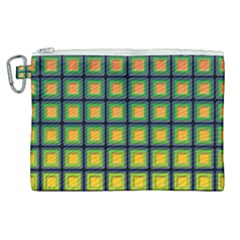 Tile Background Image Pattern Squares Canvas Cosmetic Bag (xl)