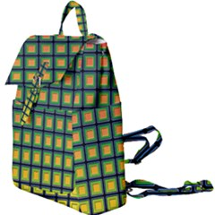 Tile Background Image Pattern Squares Buckle Everyday Backpack