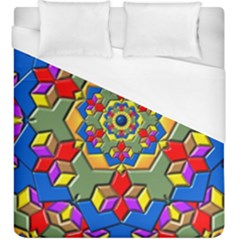Background Image Pattern Duvet Cover (king Size)