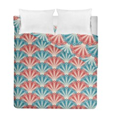 Seamless Patter Peacock Feathers Duvet Cover Double Side (full/ Double Size)