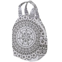 Vector Mandala Drawing Decoration Travel Backpacks by Pakrebo