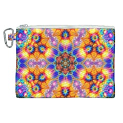 Image Fractal Background Image Canvas Cosmetic Bag (xl)