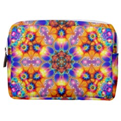 Image Fractal Background Image Make Up Pouch (medium)