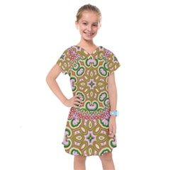 Fractal Art Pictures Digital Art Kids  Drop Waist Dress