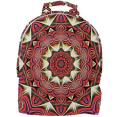 Farbenpracht Kaleidoscope Arts Mini Full Print Backpack