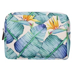 Fancy Tropical Pattern Make Up Pouch (medium) by tarastyle