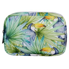 Fancy Tropical Pattern Make Up Pouch (small) by tarastyle
